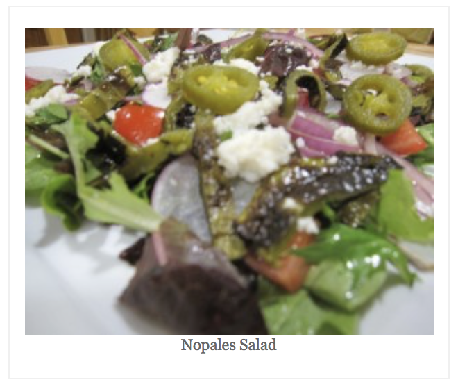 Orange County Nopales Salad